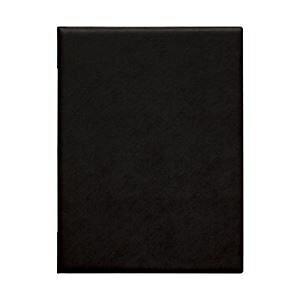 直送・代引不可(業務用セット) メニューブック(A4)黒 【×2セット】別商品の同時注文不可