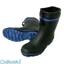 喜多(KITA)[4931530554960]ブルー4L【28.5〜29.0】安全ショートゴム長靴【カバー付】KR7310【5400円以上送料無料】