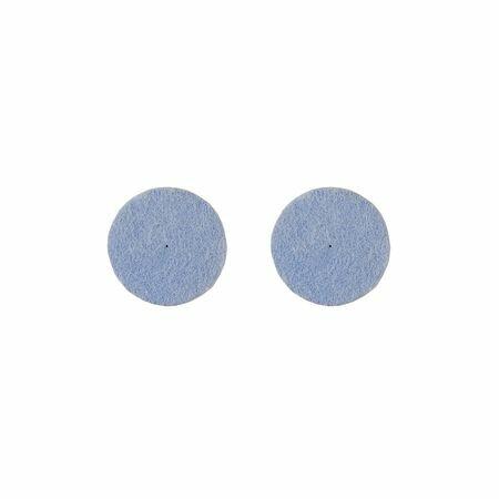 【個数:1個】サンフレックス[NO.H-400] 研磨剤入バフ 万能研磨用 2枚入NO.H400