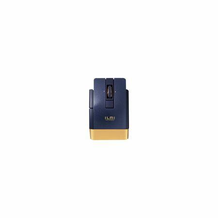 エレコム(ELECOM)[M-BT21BBBU] Ultimate Blueマウス/Bluetooth4.0対応/6ボタン/ブルー MBT21BBBU