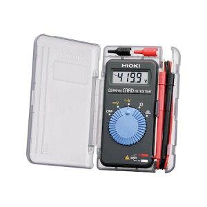 日置電機 3244-65 カードハイテスタ カードハイテスタ 324465 HIOKI ブリスターパック梱包 HIOKIカードハイテスタ CEマーク対応DMM カードサイズテスター