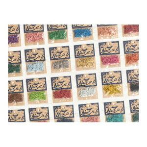 【ポイント2倍】若井産業 WAKAI NF10021 【5個入】 ネイルイット 釘 袋入り #17×19 ブルー 100入