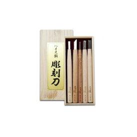道刃物工業 20000500 ハイス彫刻刀セット 5本組