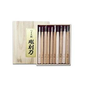道刃物工業 20001000 ハイス彫刻刀セット 10本組
