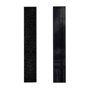 和気産業 BR042 強力面ファスナー バリバリテープ 薄型 長さ150mm 黒
