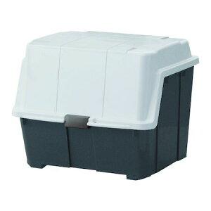 TENMA 110010724 大きく開くコンテナー95L チャコールグレー 天馬 頑丈 屋外収納ボックス 4904746107244 プラスチック工具箱 工具収納 作業工具 コンテナボックス