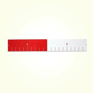 土牛産業 DOGYU 02757 紅白メジャーシール 20cm 5入