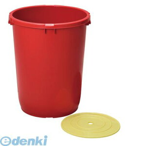 ATL4801 トンボ みそ樽 42型 本体 押蓋付 4973221010423 新輝合成 プラスチック製 味噌樽 みそ保存容器 持ち手付き 深型設計 TONBO ブラウン 押しフタ付 42L