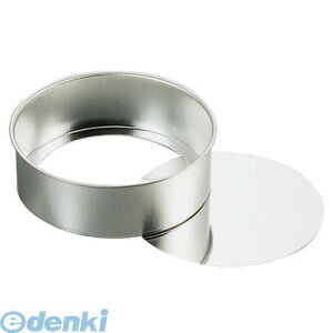 WDK05015 ブリキデコ底取型 15cm 4905001203206 TKG デコレーションケーキ型 スポンジケーキおうち時間 ブリキデコ底取型15cm 丸デコレーション型 デコ缶底取深型