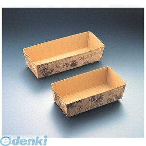 【ポイント2倍】WBC32202 ベーキングトレー ハウス柄長方型 CT−202 50枚入 4991120810029 天満紙器 TEMMA パウンドケーキ型 パウンドケーキ型ベーキングトレイ