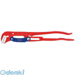 クニペックス KNIPEX 8360-015 ミニウォーターポンププライヤー コブラ 125mm パイプレンチS型 420mm KNIPEX8360-015 KNIPEX社 tr-7883706