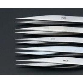 【ポイント2倍】エスコ EA595AK-2 110mmステンレス製精密用ピンセット EA595AK2【キャンセル不可】