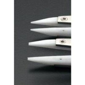 エスコ EA595AP-34 115mmデルリン/ステンレス製ピンセット EA595AP34【キャンセル不可】