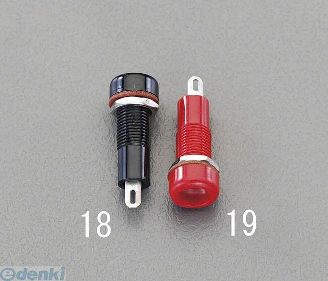 【キャンセル不可】[EA940DP-18] 【φ8.2x7.5mm穴用】 チップジャック【黒】 EA940DP18