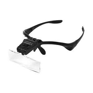 4525955100309 TSK メガネ型ルーペライト付 HD−002 テイエスケイ 東京セイル HD002 作業工具 拡大鏡 LEDライト付きメガネ型ルーペ LEDライト付メガネ型ルーペ