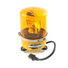 【予約受付中】【11月上旬以降入荷予定】[4938766000247]パトライト 中型回転灯 黄 SKP−110AH−Y