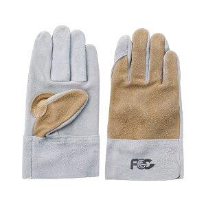 【ポイント2倍】4952558193108 FGC 牛床皮手袋 92−T 内縫い L 富士グローブ Glove Fuji Lサイズ ツートン 作業手袋 内縫ツートン 革手袋