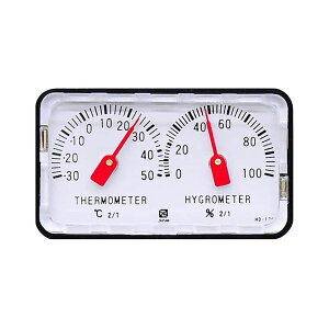 4955286801024 CRECER 精密温湿度計 HD−120 クレセル 卓上用 温度計 アナログ温湿度計 ショーケース コンパクト リビング 子供部屋 見やすい キッチン 日本製 小さい