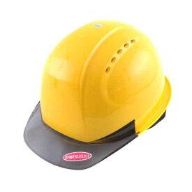 4962087104506 TOYO ひさし透明ヘルメット うす黄 NO.380F−OT−S