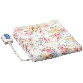 広電 [CWS-081F-5] 綿 掛け敷き毛布(花柄) CWS081F5