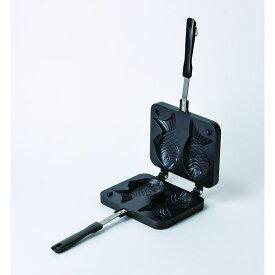 パール金属 D-6536 おやつDEっSEII ふっ素加工たい焼器 D6536【キャンセル不可】