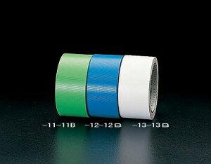 【個人宅配送不可】 エスコ EA944ML-12B 直送 代引不可・他メーカー同梱不可 50mm x25m床養生テープ 青 30巻 EA944ML12B【キャンセル不可】