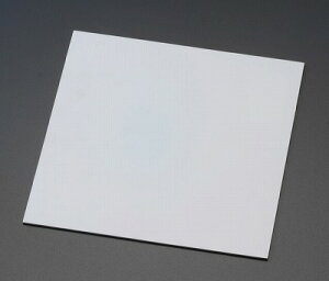 エスコ EA997XC-63 300x2.0mm ゴム板 白 1枚 EA997XC63【キャンセル不可】