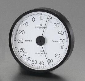 エスコ EA728EB-45 120mm 温度・湿度計 EA728EB45【キャンセル不可】