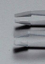 【ポイント2倍】エスコ EA595AM-16 118mm /P35 ESD プラスティックピンセット EA595AM16【キャンセル不可】