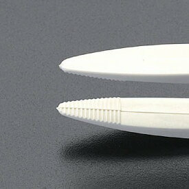 エスコ EA595VG-2 125mm プラスティック製 ピンセット EA595VG2【キャンセル不可】