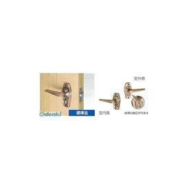 川口技研 [HL-4C-60] ホームレバーシリーズ 表示錠(型) トイレ用(ツマミカギ) バックセット60 仕上:銅ブロンズ HL4C60