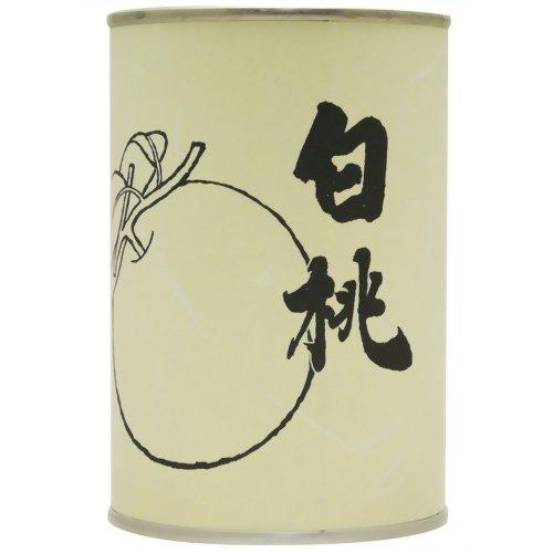 [4961320113060] レインボー食品 国産 白桃 缶詰 425g