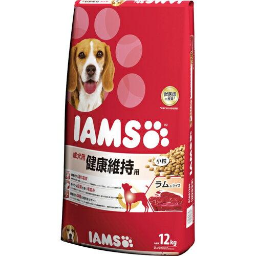 【個数:1個】0019014603848 「直送」【代引不可・他メーカー同梱不可】 マースジャパンリミテッド 成犬用 健康維持用 ラム&ライス 小粒 12kg