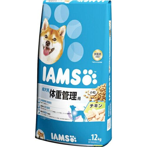 【個数:1個】0019014603886 「直送」【代引不可・他メーカー同梱不可】 マースジャパンリミテッド アイムス 成犬 体重管理 チキン 小粒 12kg