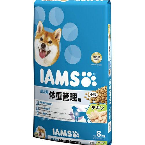 [0019014614103] マースジャパンリミテッド アイムス 成犬 体重管理用 チキン 小粒 8kg