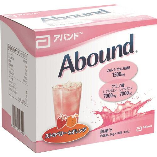 【個数:1個】4987439197449 Abbott japan(アボットジャパン) アバンド ストロベリー&オレンジ 24g×14袋