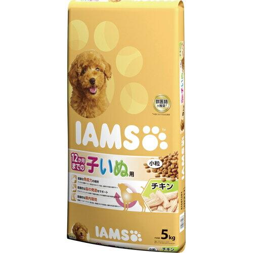 [4902397842088] マースジャパンリミテッド アイムス 12か月まで子犬 チキン 小粒 5kg
