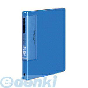 コクヨ KOKUYO 52390746 クリヤーブックウェーブカット替紙式A5縦15枚青 ラ−T722B
