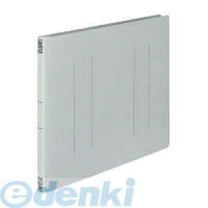 コクヨ KOKUYO 52414817 【10個入】 フラットファイルV樹脂製とじ具B4横 15mmとじ グレー フ−V19M