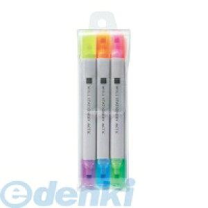 コクヨ KOKUYO 56012446 蛍光マーカー<WiLL STATIONERY ACTIC>2色ツイン・3本セット F−WPM104SET