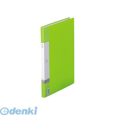 リヒトラブ(LIHIT LAB.) [G3401-6] リクエスト クリヤーブック<サイドベンツ> A4/A3・S型 6黄緑 4903419349271