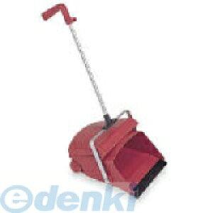 テラモト DP-462-100-2 デカチリトリ1本柄 レッド DP4621002 車輪付き 掃除用品 大容量 環境美化用品デカチリトリ デカチリトリ1本柄レッド 業務用