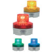 日恵 [VL07B-003AY] 電池式小型LED回転灯ニコUFO(黄) VL07B003AY