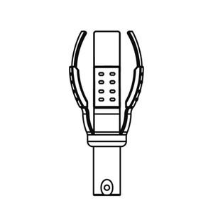 【あす楽対応】ジェフコム(JEFCOM) [DLC-CH8] ランプチェンジャーキャッチヘッド DLCCH8 366-5208
