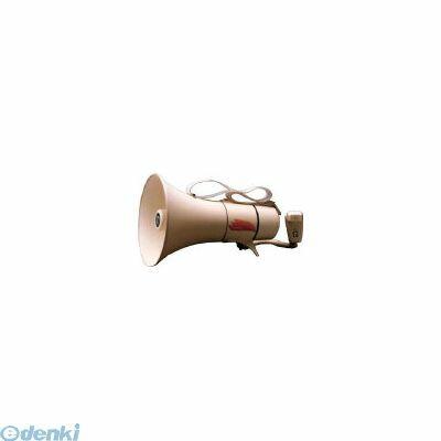 【あす楽対応】ノボル電機製作所(ノボル) [TM208] ショルダータイプメガホン13Wホイッスル音付き【電池別売 433-4256