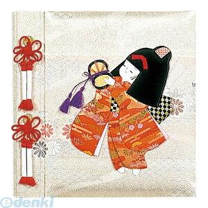 ナカバヤシ 30281 フエルアルバム 誕生用 京人形 女の子 アH−LB−121−1 30281 Lサイズ 写真 フエルアルバム誕生用100年台紙 Nakabayashiフエル誕生
