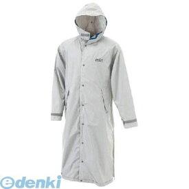 カジメイク 7260713L エントラントレインコート シルバー 3L 7260-71-3L 3Lサイズ KAJIMEIKU DOQMENT 作業用品 縫製合羽 衣料