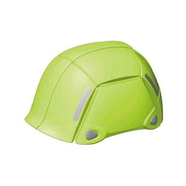 トーヨーセフテイー [NO100LM] 防災用折りたたみヘルメット BLOOM ライム