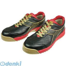 【あす楽対応】「直送」ドンケル PC22275 DIADORA 安全作業靴 ピーコック 黒 27.5cm