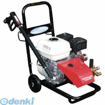 【個数:1個】スーパー工業 [SEC10152N] エンジン式高圧洗浄機SEC1015−2N【コンパクト&カート型】